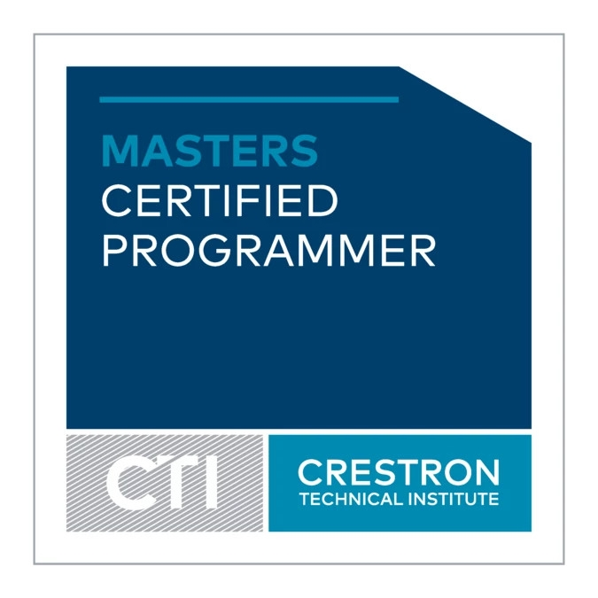 Crestron Certified Programer Logo