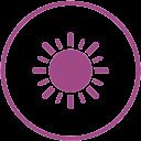 Característica césped artificial  resistente UV