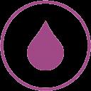 Característica césped artificial resistente al cloro