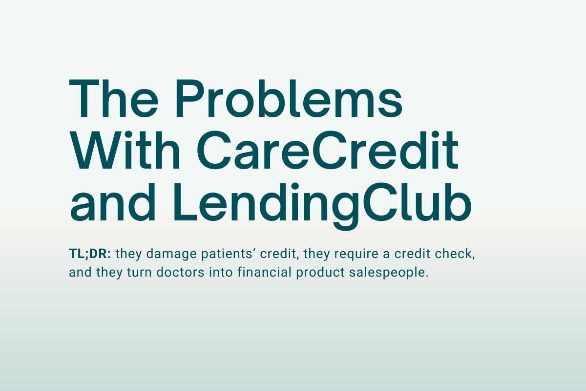 The Problems With CareCredit and LendingClub