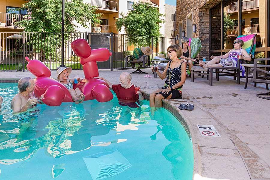 Royal Oaks Senior Living Pool, Sun City