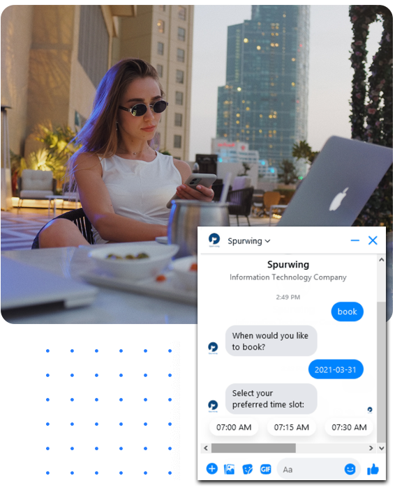 scheduling api chat bot integrations
