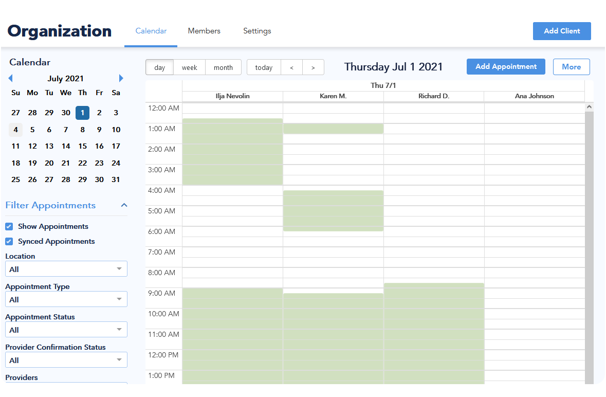 scheduling api for remote teams