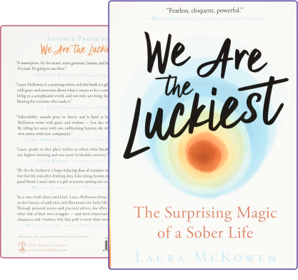 The cover of Laura McKowens book