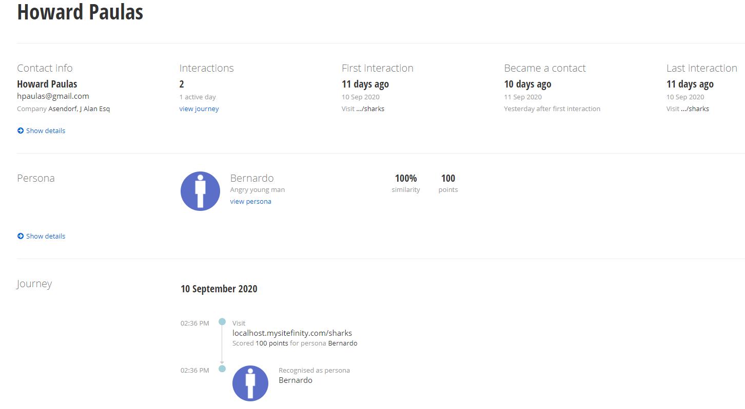 InGen - Contact Screenshot