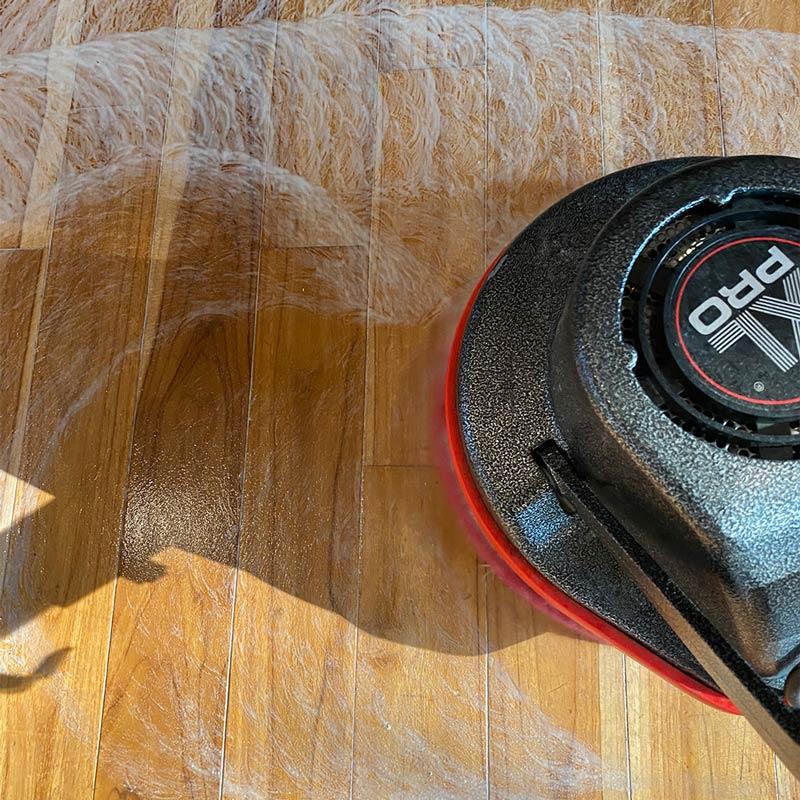 Hardwood floor cleaning in Medford, OR