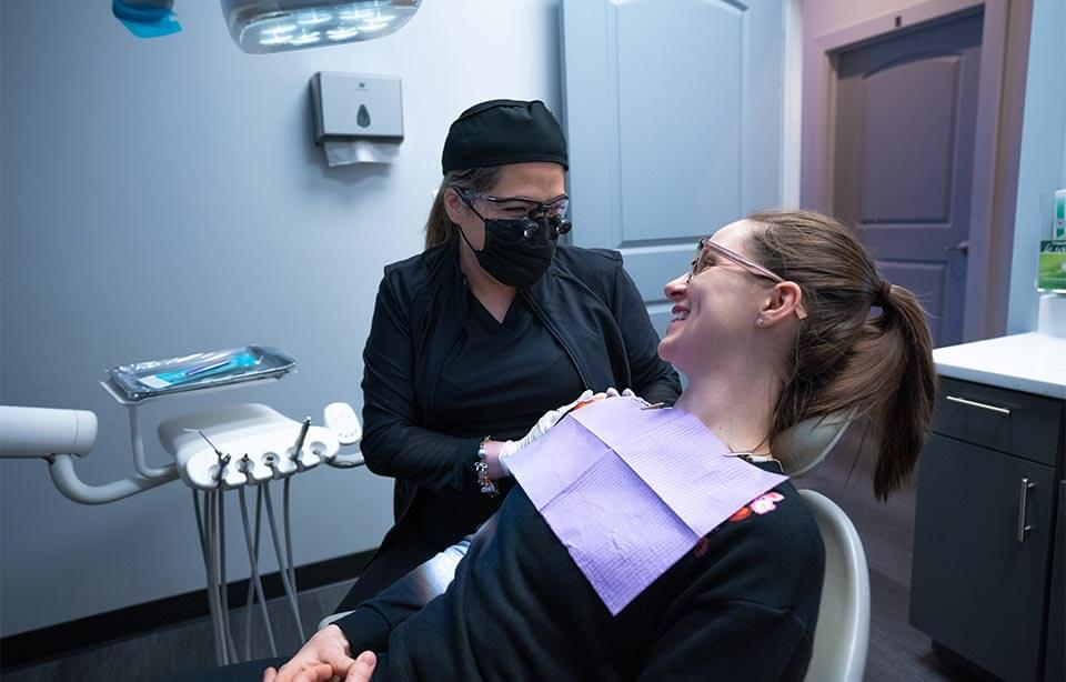 InStyle Dental - doctor and patient smiling