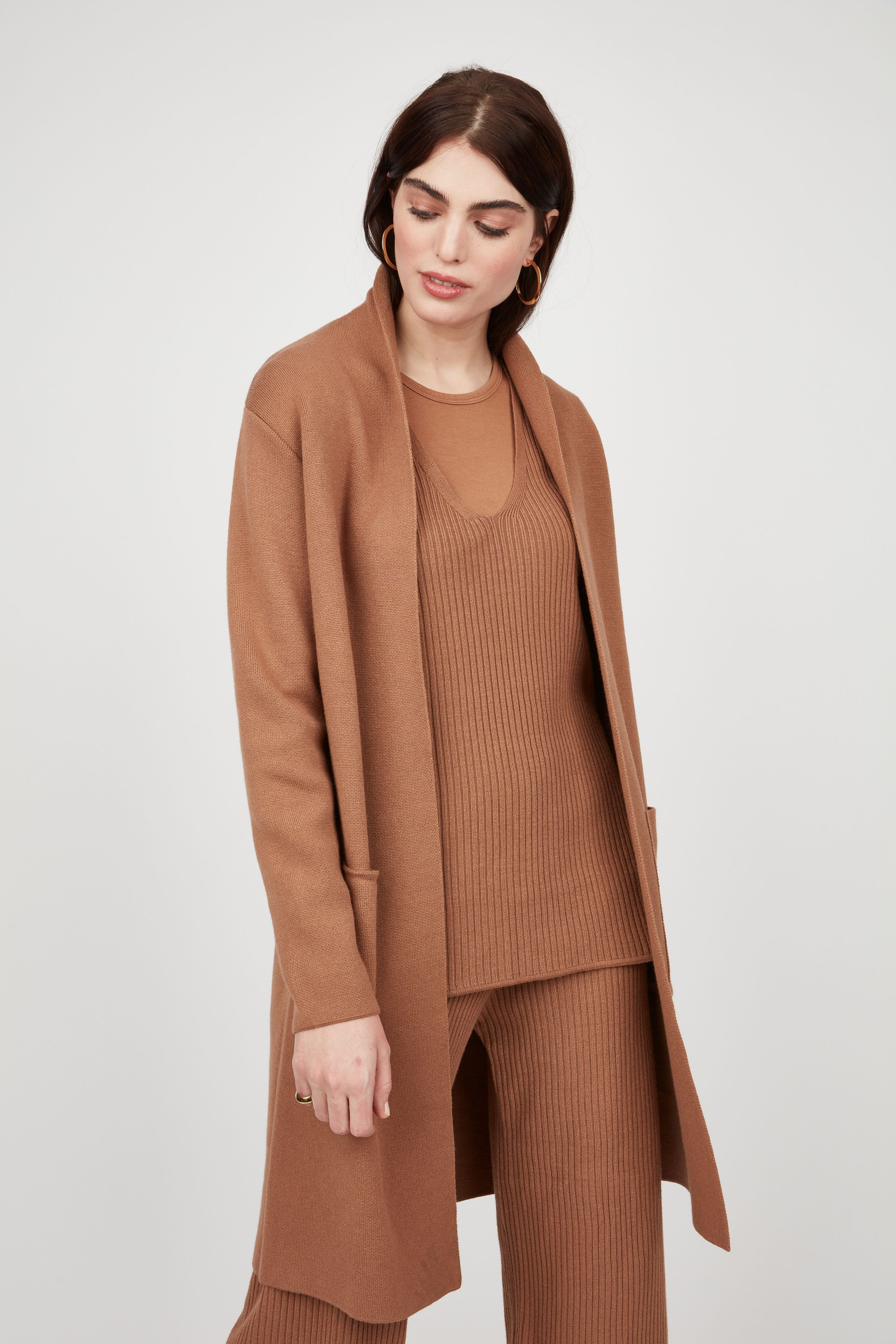 Classis Knit Coat