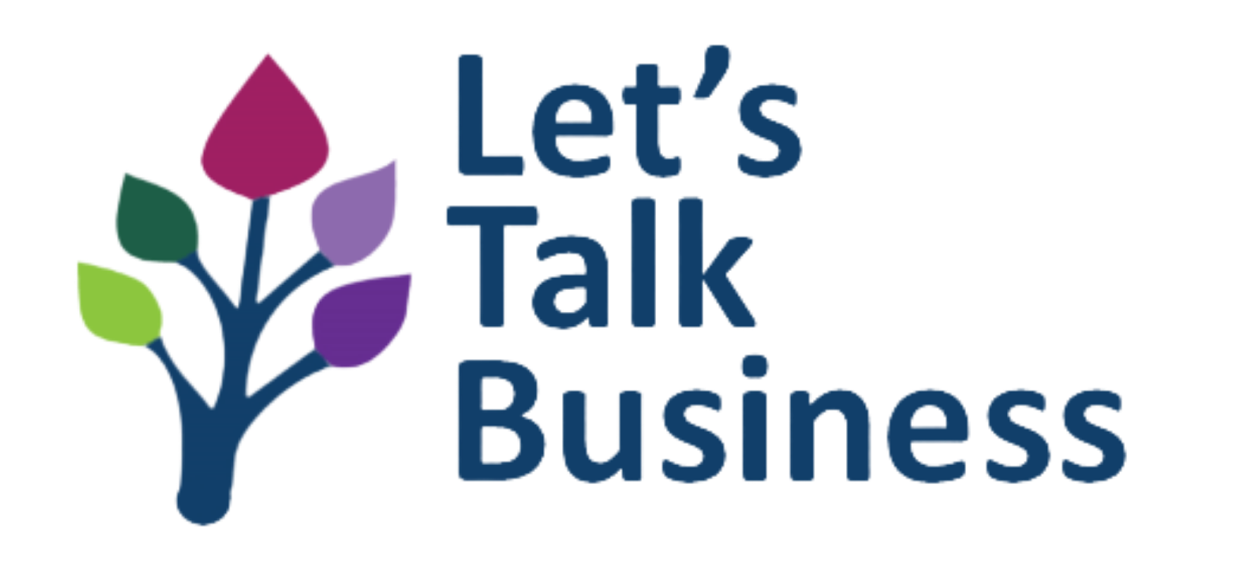 The Let's Talk Business logo