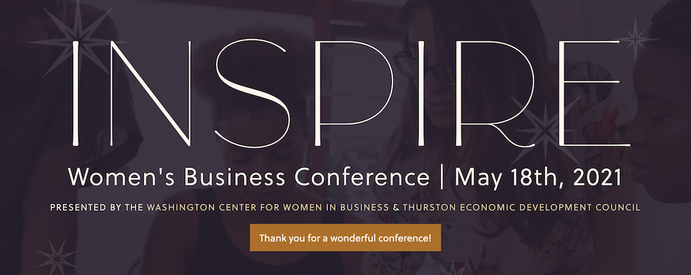 A banner for the Inspire Conference