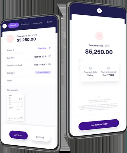 Kontroller udgifterne, Mobile App img