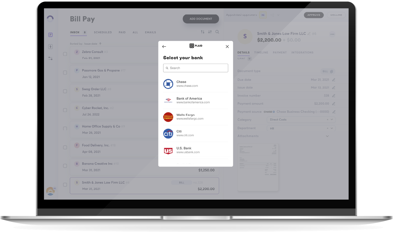 Customise payment terms