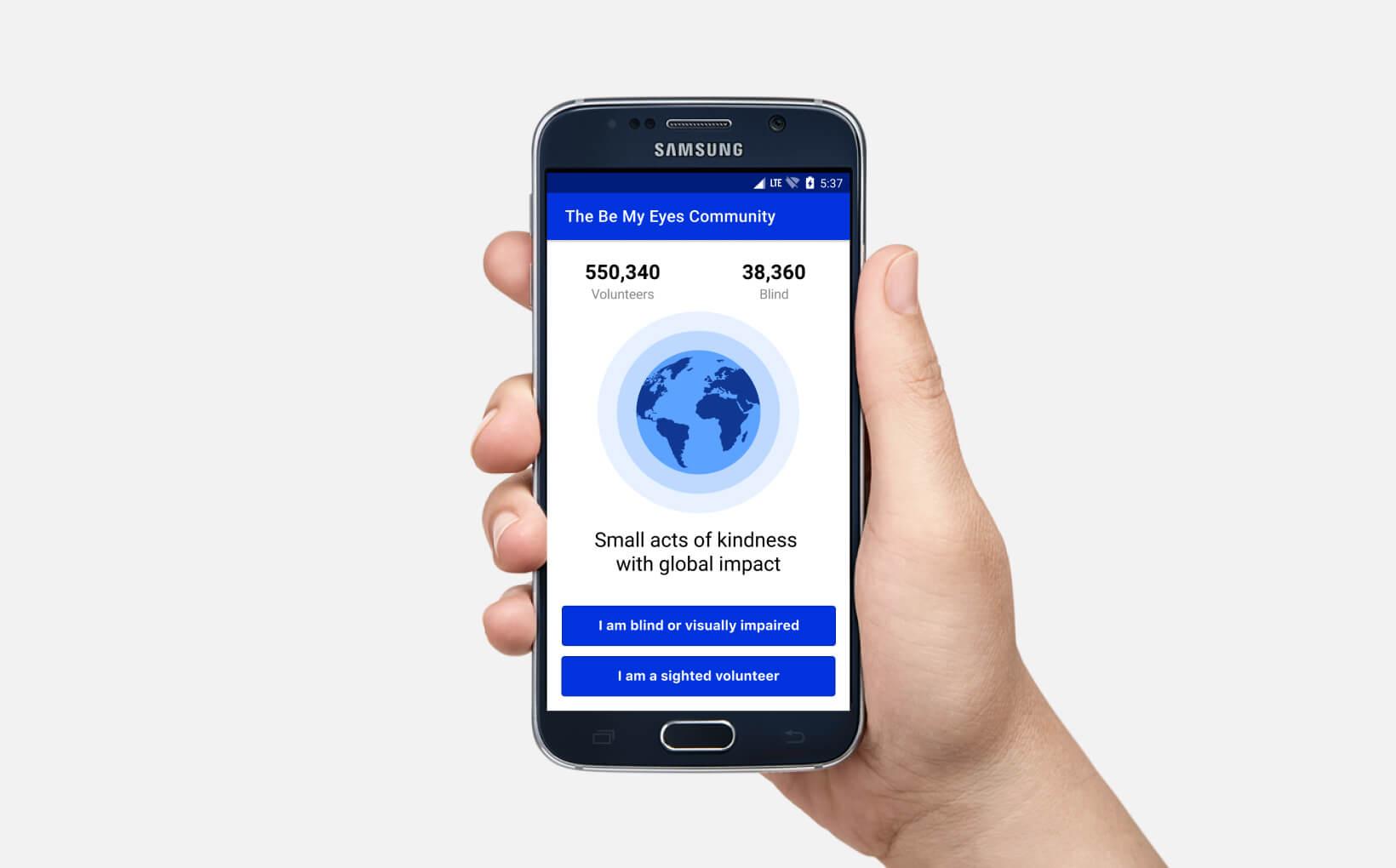 Fremtidens virksomheder sætter strøm til deres processer, BeMyEyes image
