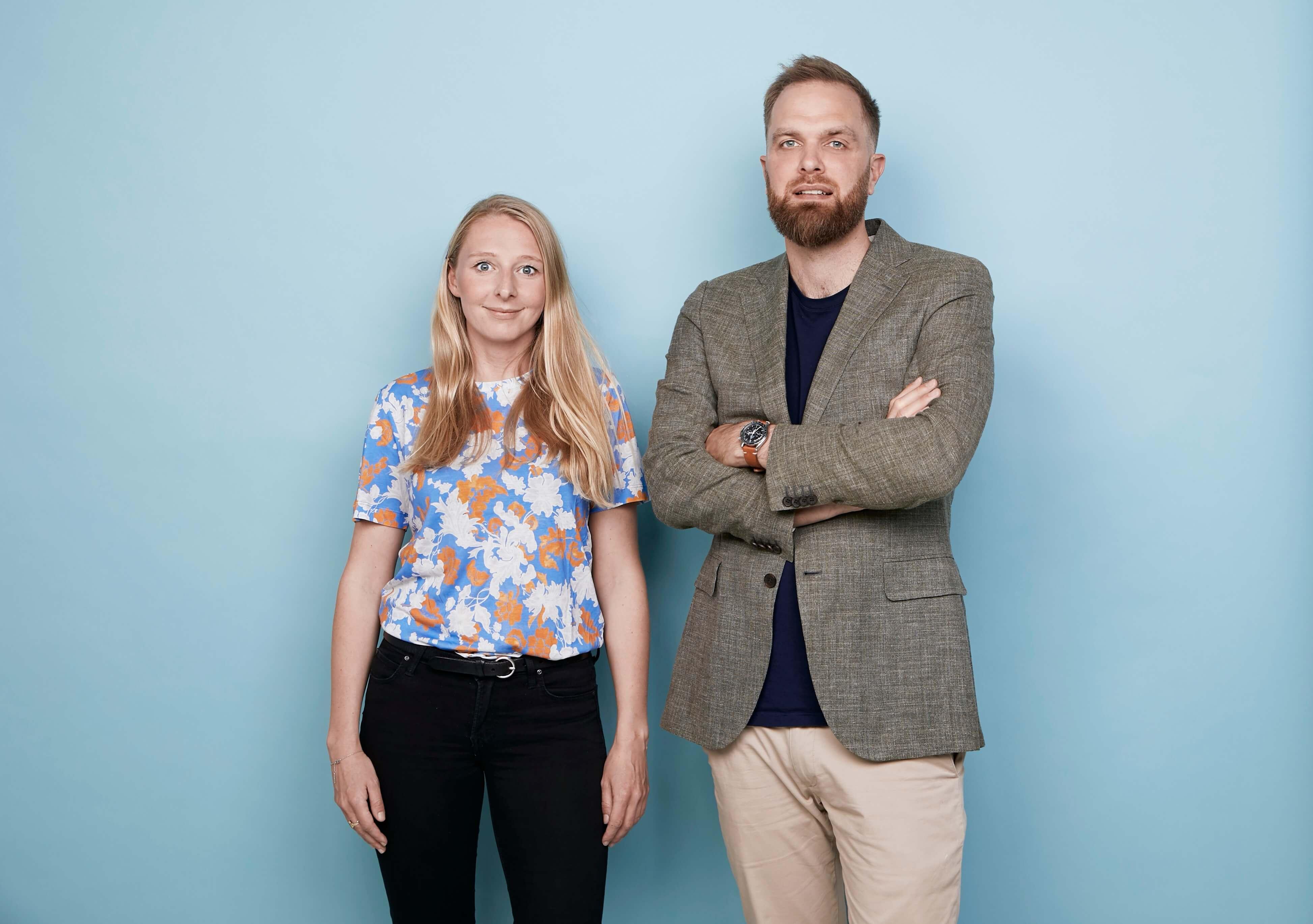 Cathrine Andersen og Christian Rasmussen