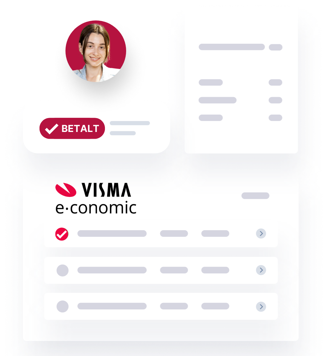 Betalt, VISMA economic