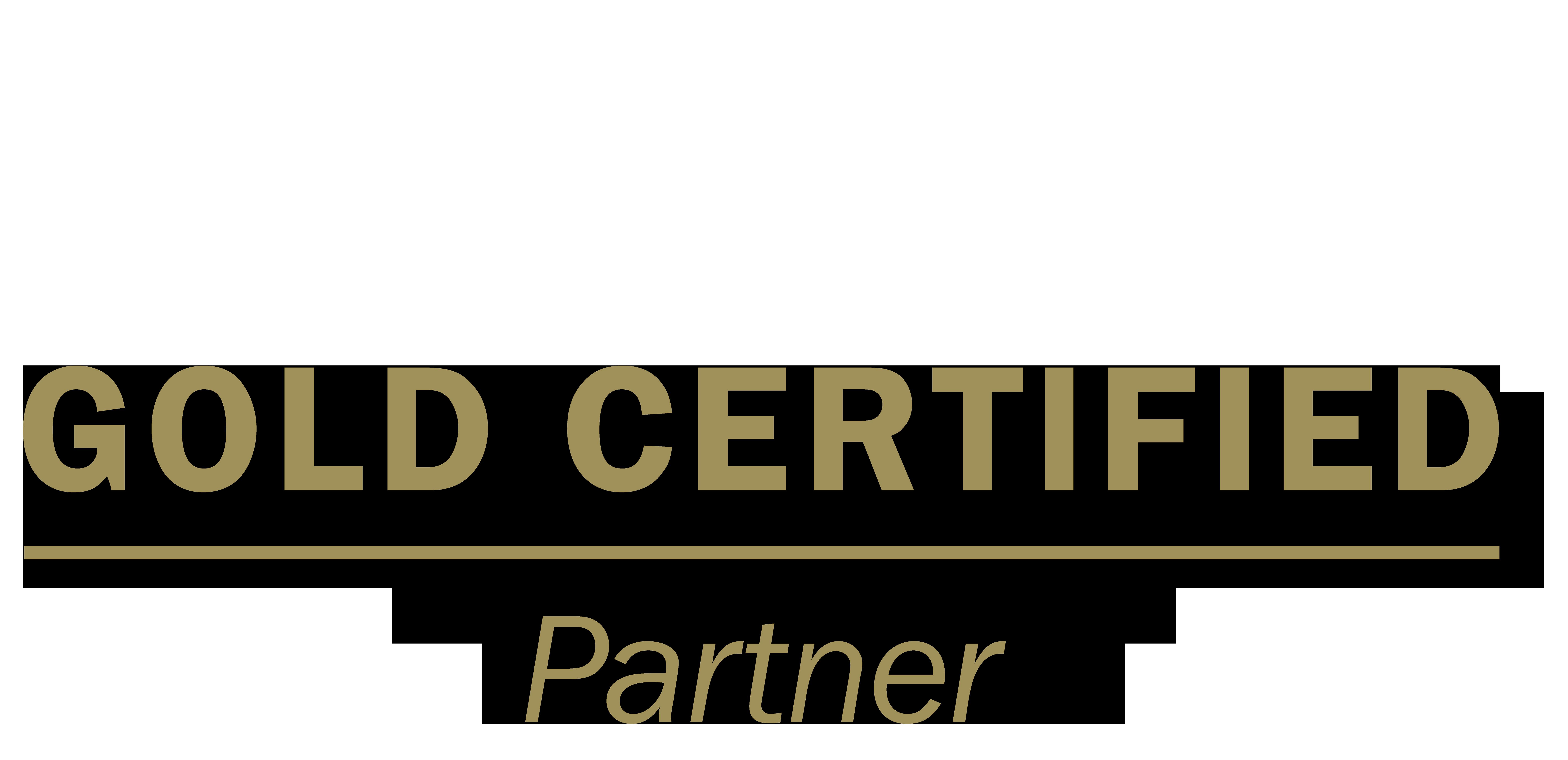 Logo: Microsoft Gold Certified Partner