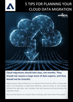 5 Tips for Planning Your Cloud Data Migration Whitepaper