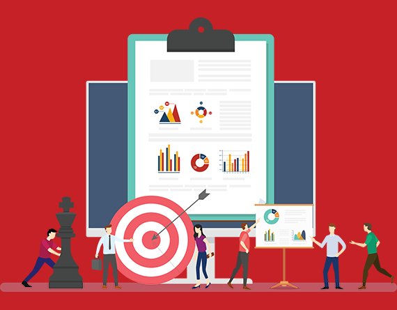 target and reports illustration