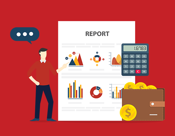 analytics reports illustration