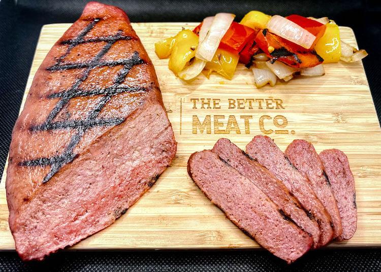 Rhiza Steak on a cutting board