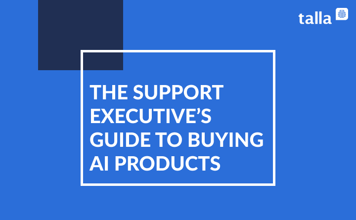 The Time is Now for AI in Customer Support