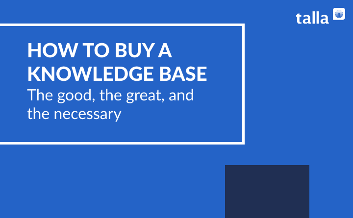 Buying a Knowledge Base In the A.I. Era: the good, the great, and the necessary