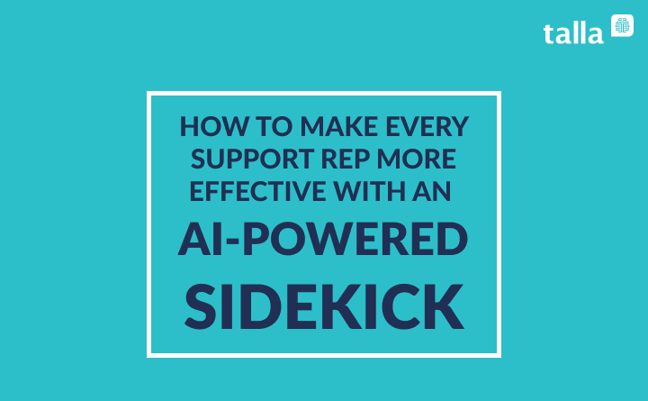 Support Reps Are Unsung Heroes and AI Should Be Their Sidekick