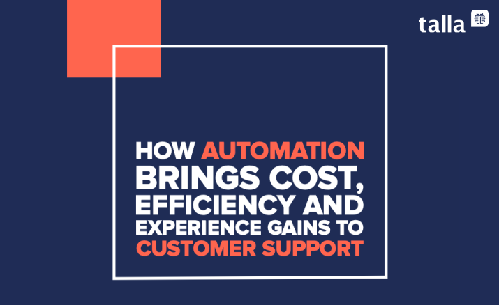 How Automation Brings Cost,  Efficiency and Experience  Gains.