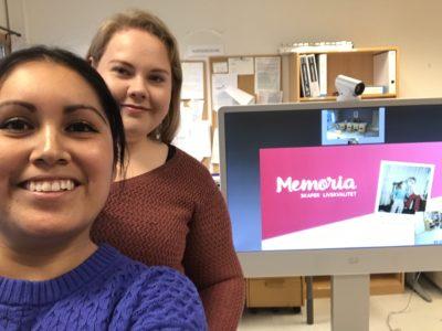 Marisol og Ingvill klar for å ha undervisning