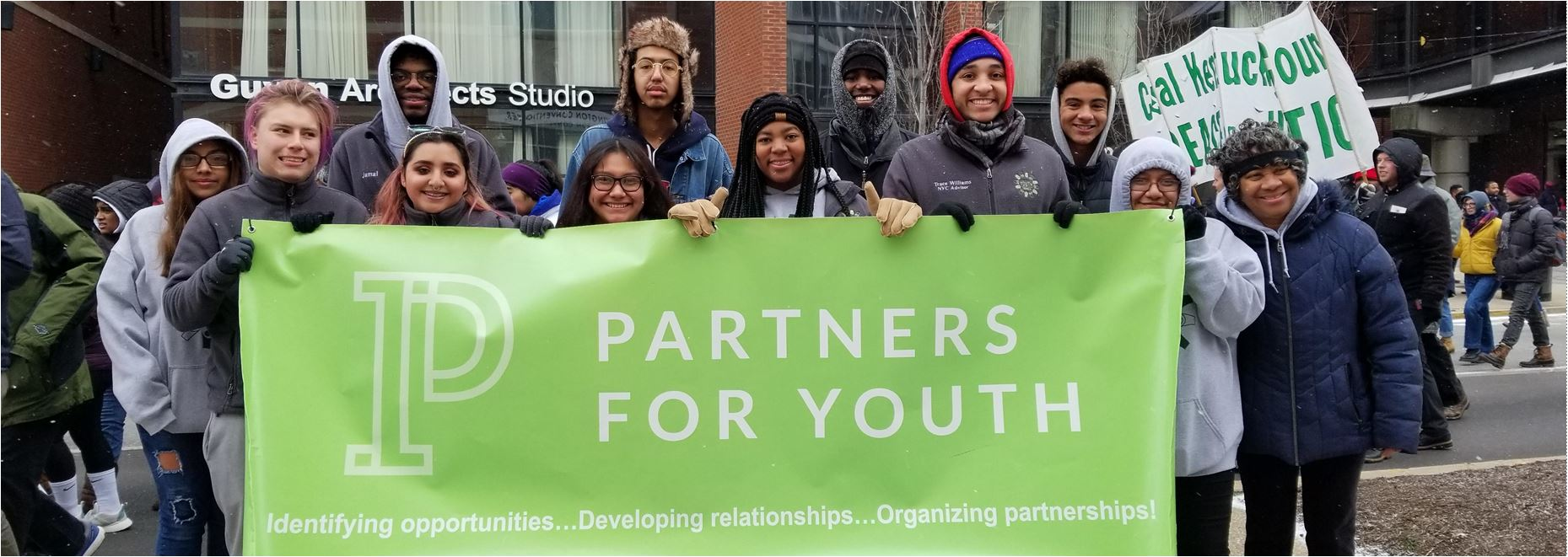 Partners for Youth at MLK event