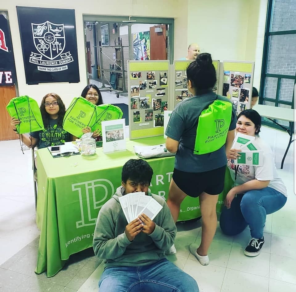 Neighborhood Youth Council recruiting event