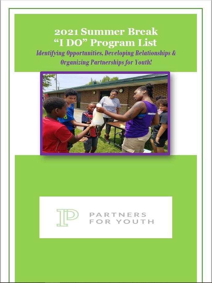 """""""I DO"""" 2021 Summer Program List"""