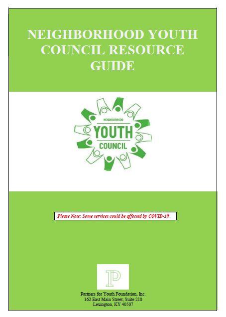 2021-2022 Neighborhood Youth Council Resource Guide