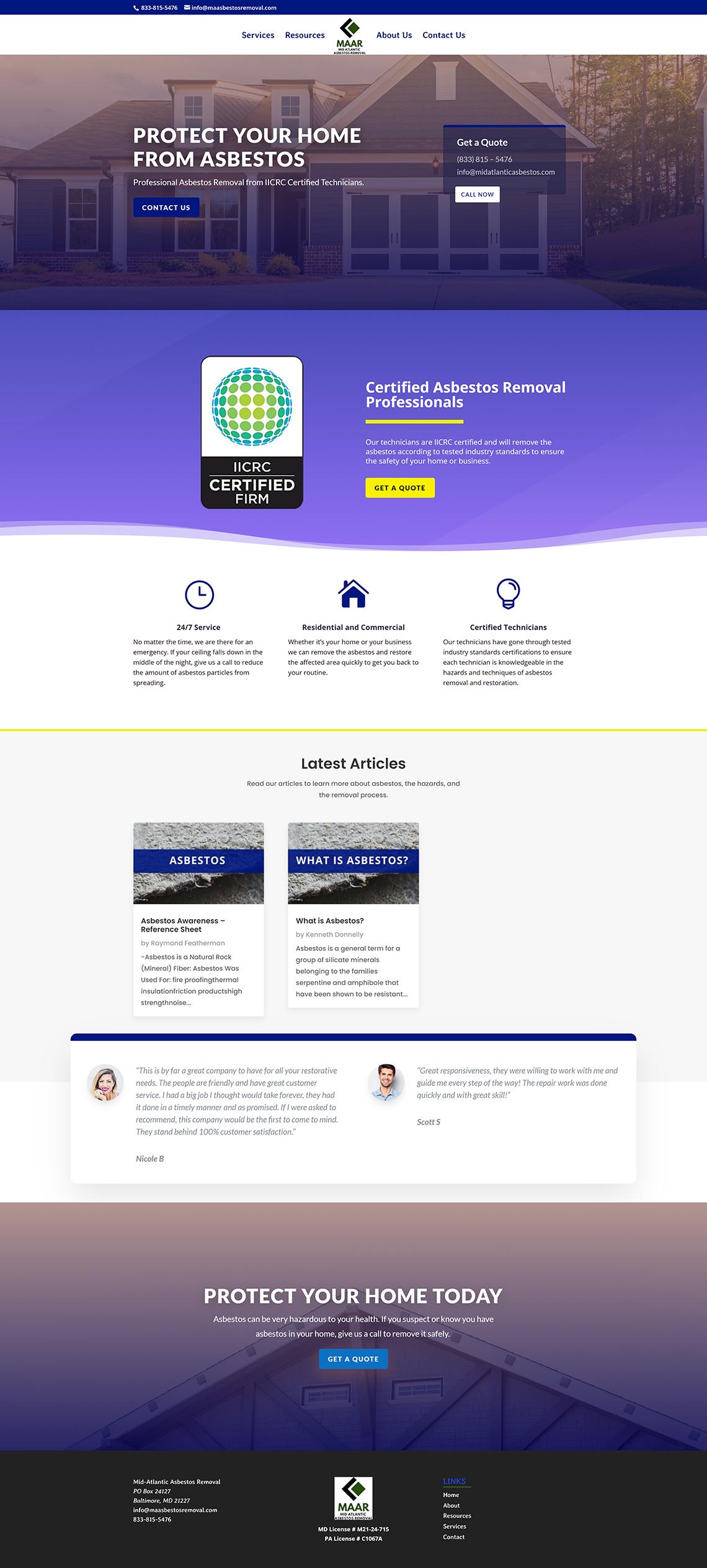 Asbestos Website