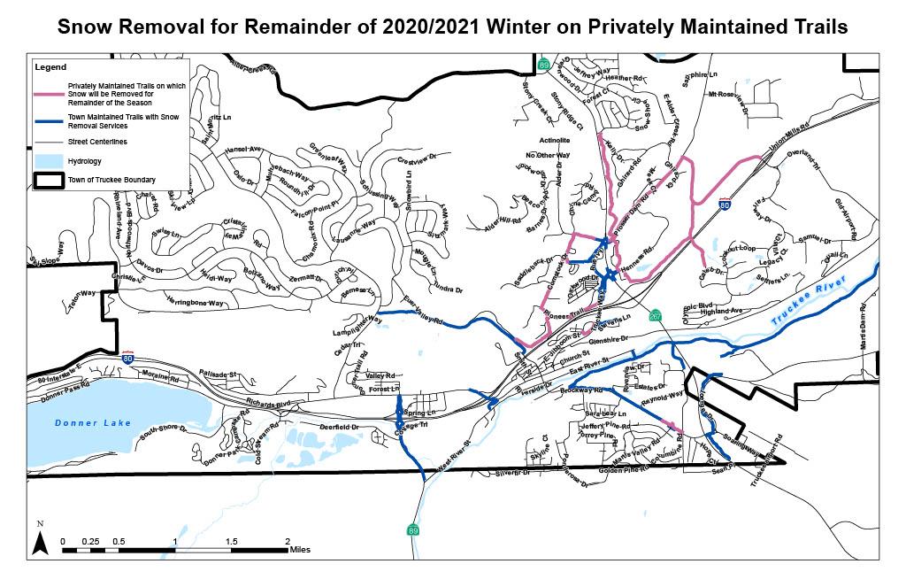 Dog-friendly, snow-Free winter trails in Truckee.