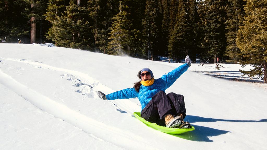Go sledding in Truckee-Tahoe