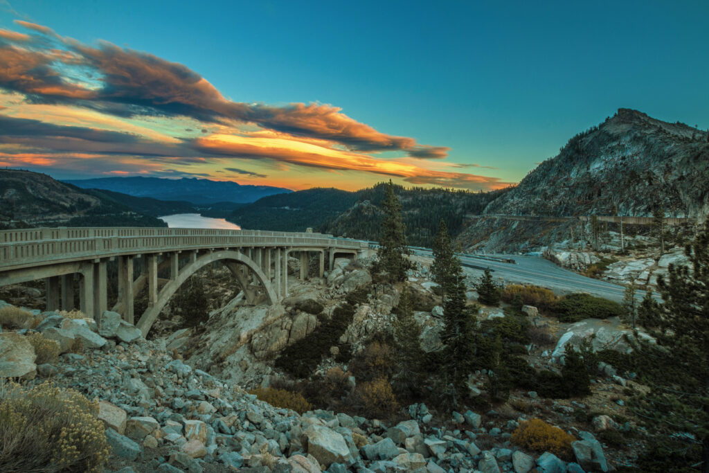 Picnic on Donner Pass Road. Photo: Paul Hamill