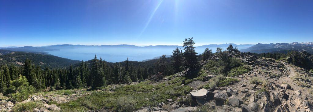 Hike to the top of Ellis Peak in Lake Tahoe