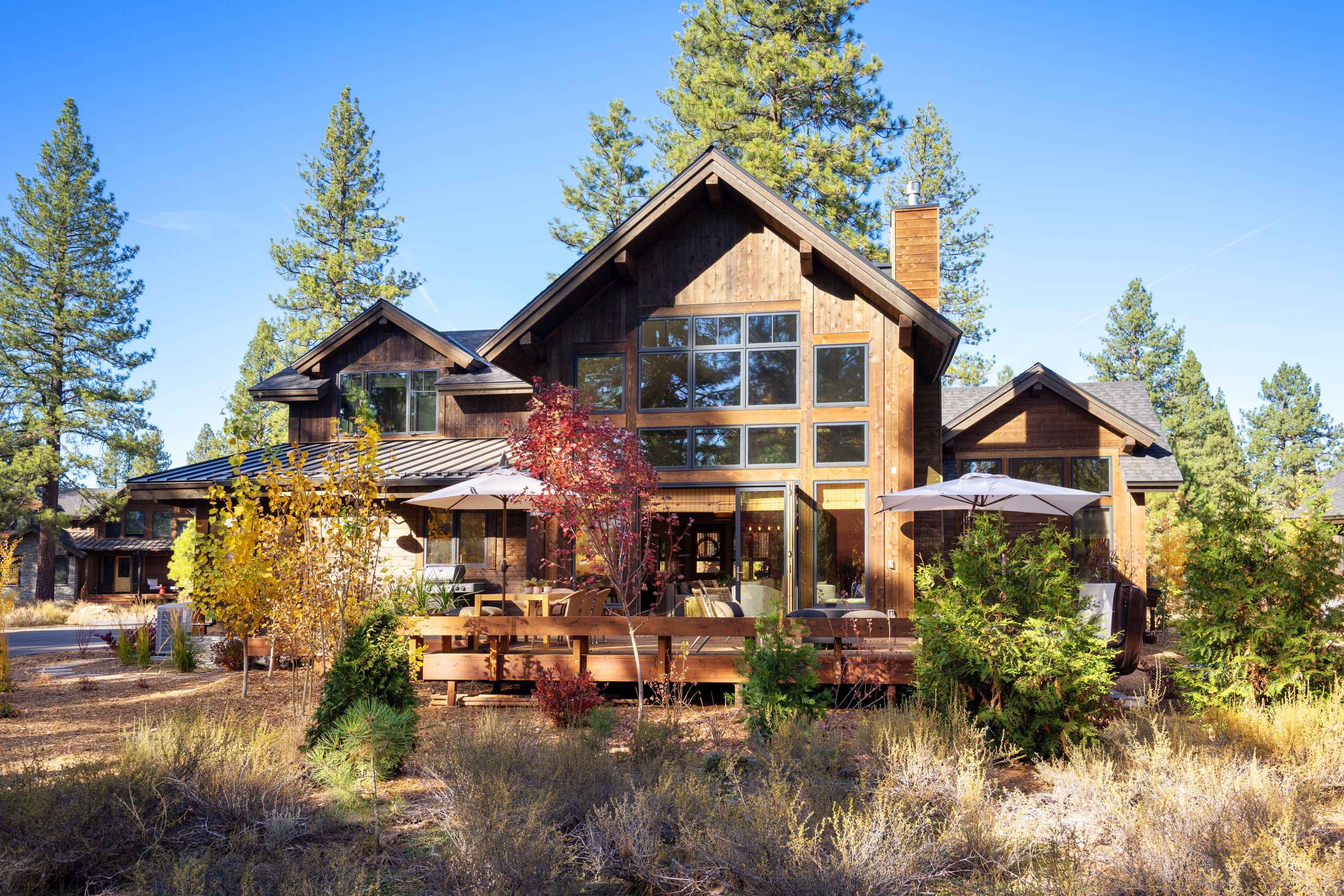 A Tahoe Exclusive Vacation Rental  mountain home.