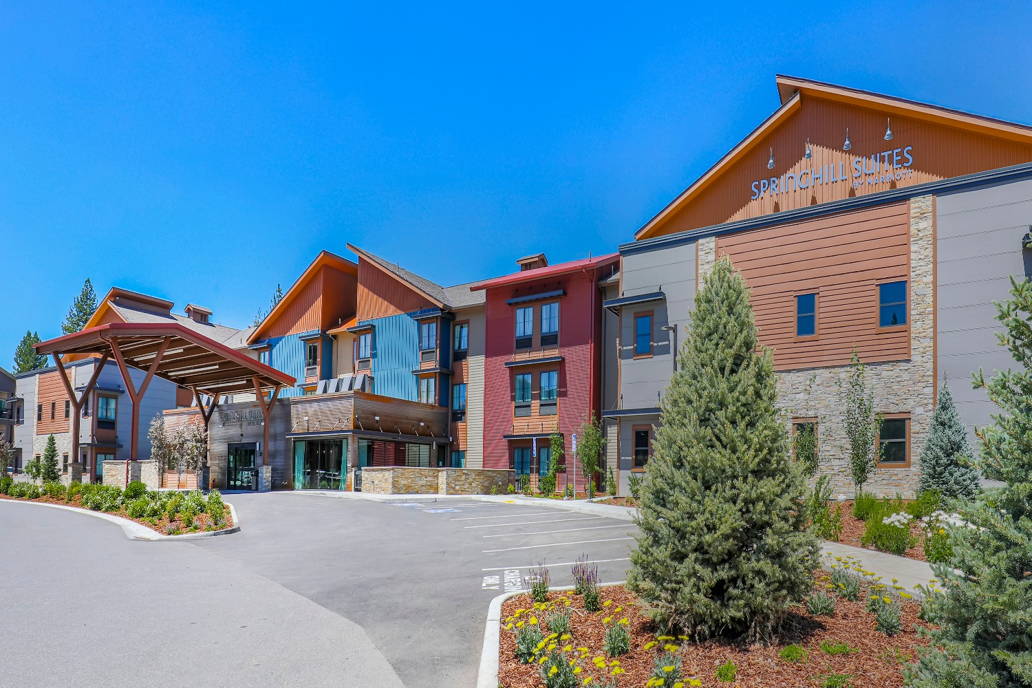 SpringHill Suites by Marriott in Truckee.