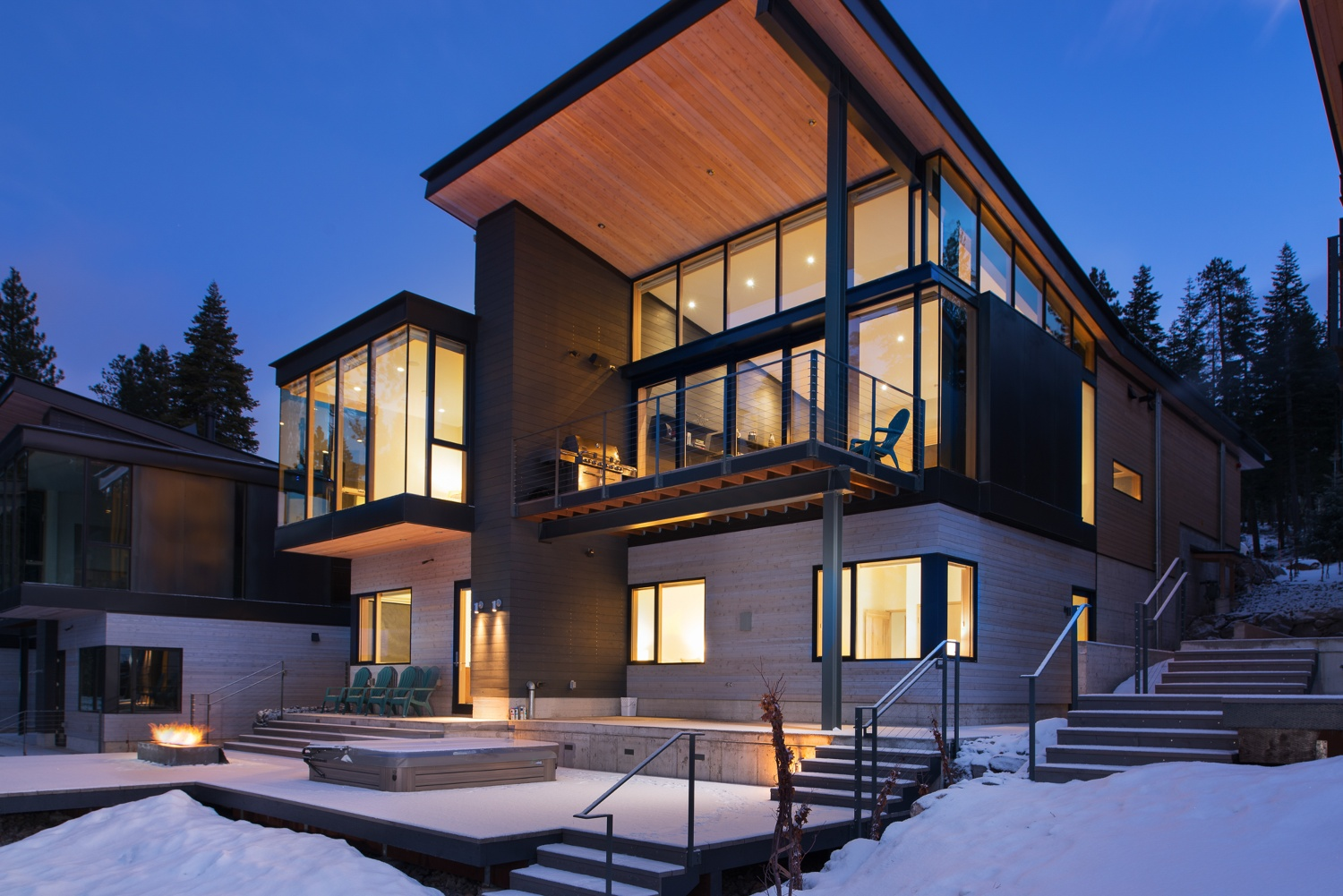Tahoe Exclusive Vacation Rental mountain home.