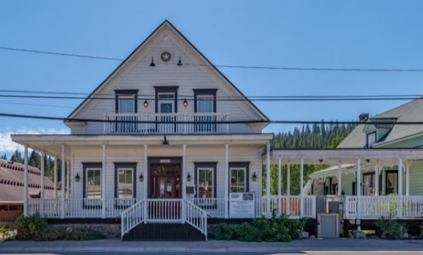 Truckee Hotel in the heart of downtown Truckee.