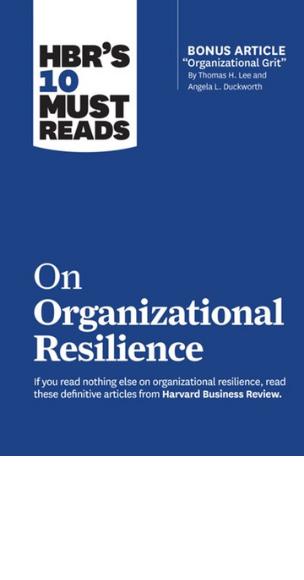 On Organizational Resiliance