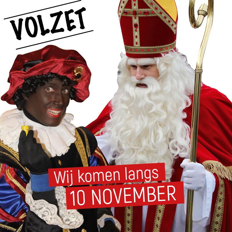 Aftellen tot Sinterklaas...