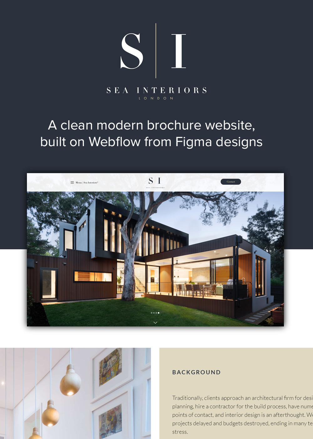 Website designed by Rugby Web Design Limited - Sea Interiors