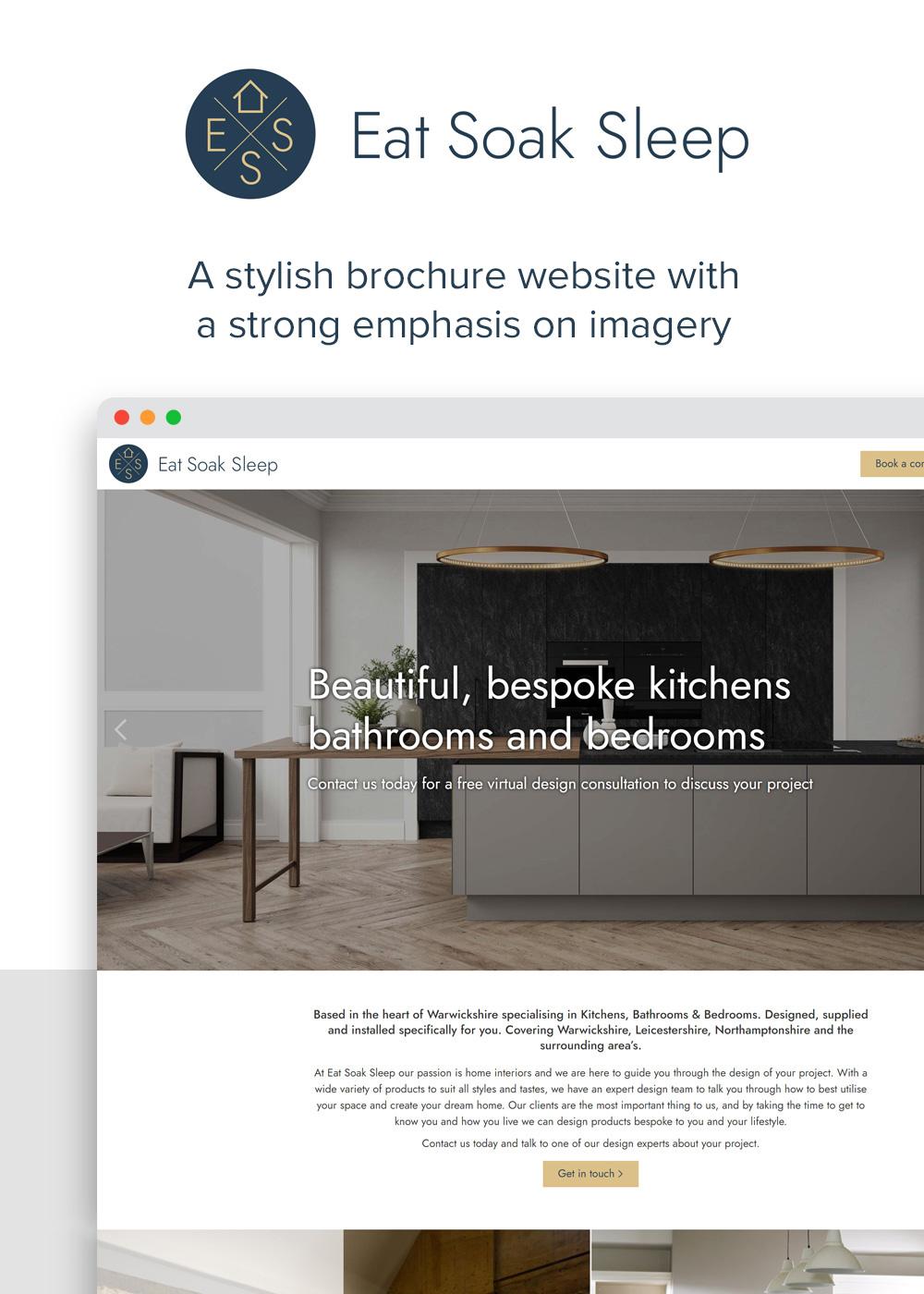 Website designed by Rugby Web Design Limited - Eat Soak Sleep