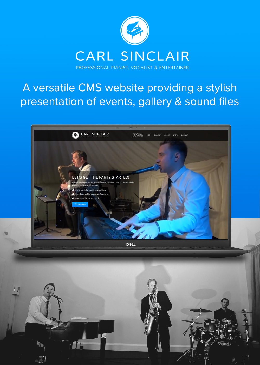 Website designed by Rugby Web Design Limited - Carl Sinclair