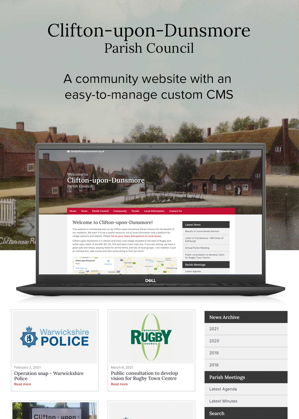Website designed by Rugby Web Design Limited - Clifton upon Dunsmore