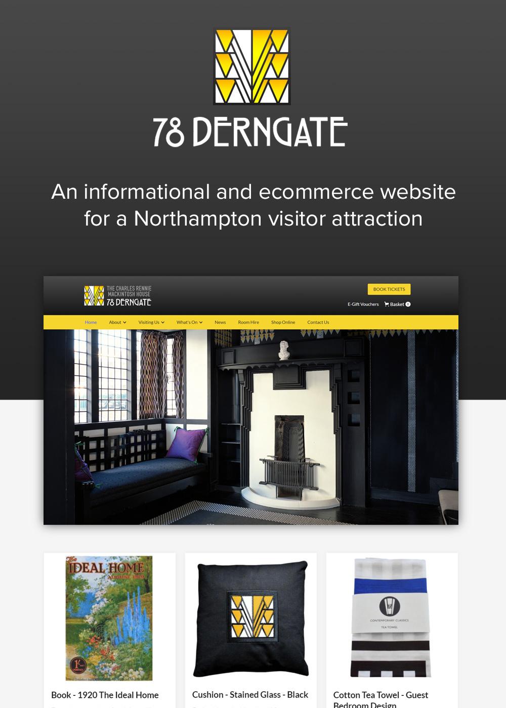 Website designed by Rugby Web Design Limited - 78 Derngate