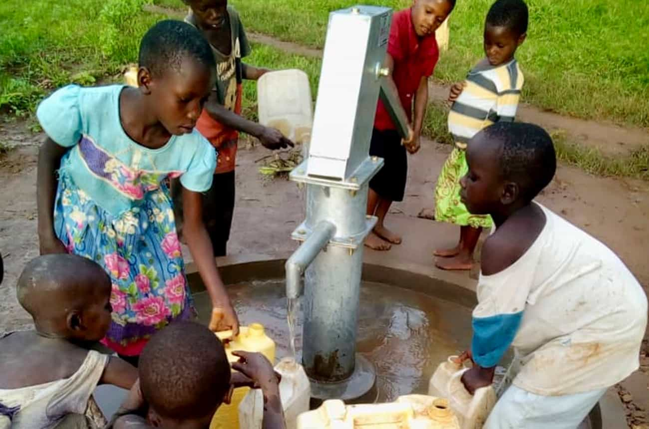 Running Well completes its tenth water borehole in Irundu parish